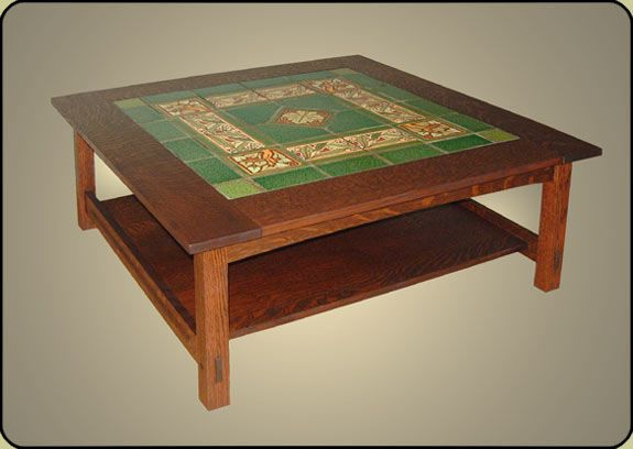 mission tile top coffee table | practical and not so practical