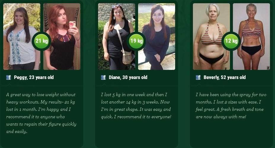 Фито спрей для похудения отзывы реальные