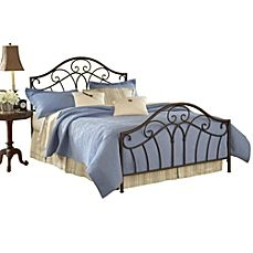 image of Hillsdale Josephine Bed Set with Rails