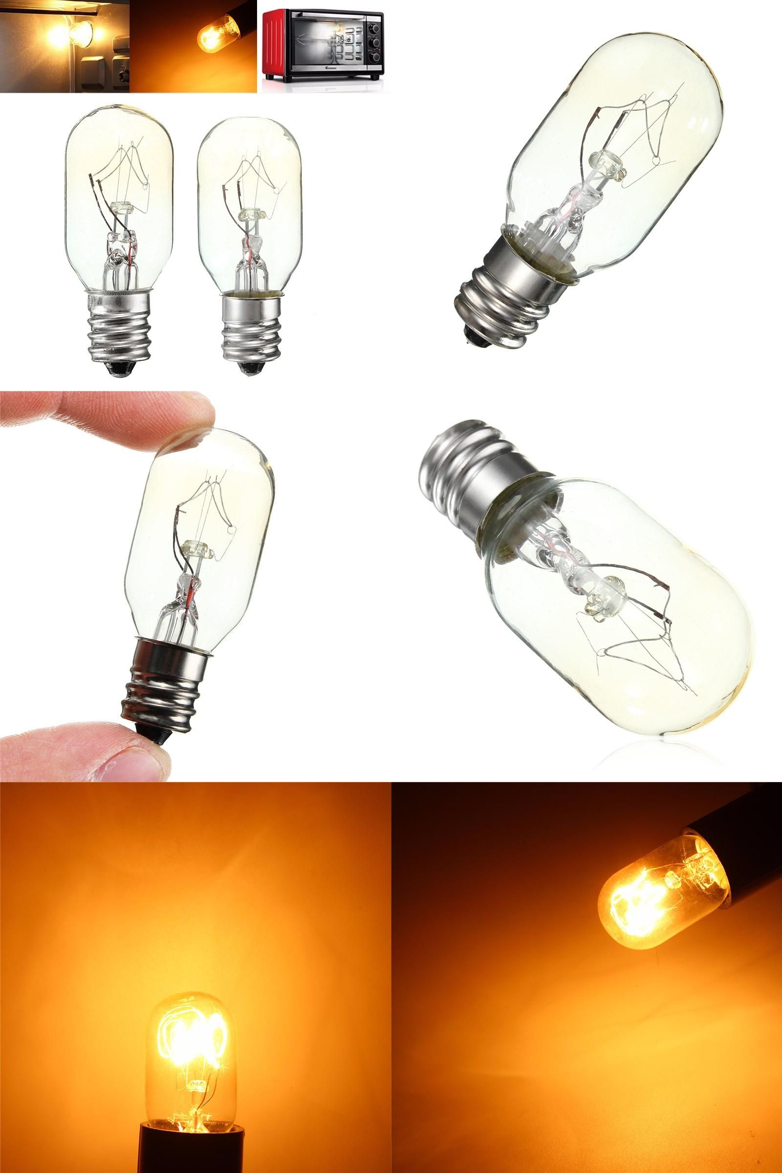 Visit To Buy Oven Fridge Lights High Temperature 15w 25w Incandescent Bulb E12 Toaster Refrigerator Filament Bulbs Glass Glass Lamp Lamp Light Filament Bulb
