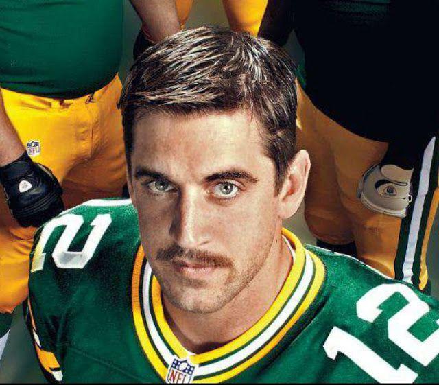 Happy Aaron Rodgers Day Aaron Rodgers Mustache Aaron Rodgers Aaron Rogers