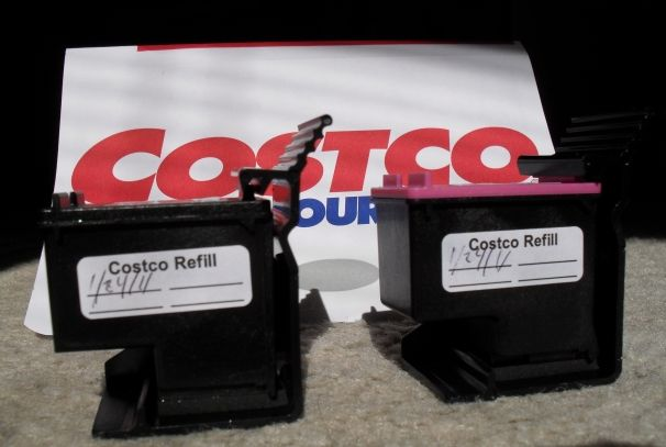 Costco Ink Refills Superlow Price So So Quality Ink Refill