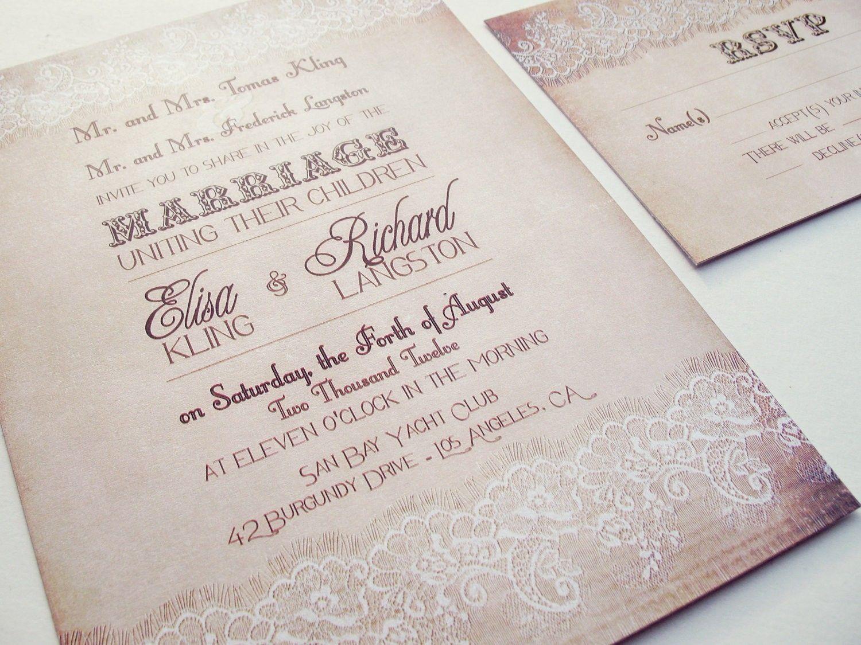 How To Create Cheap Wedding Invitation Sets Free Ideas Brand
