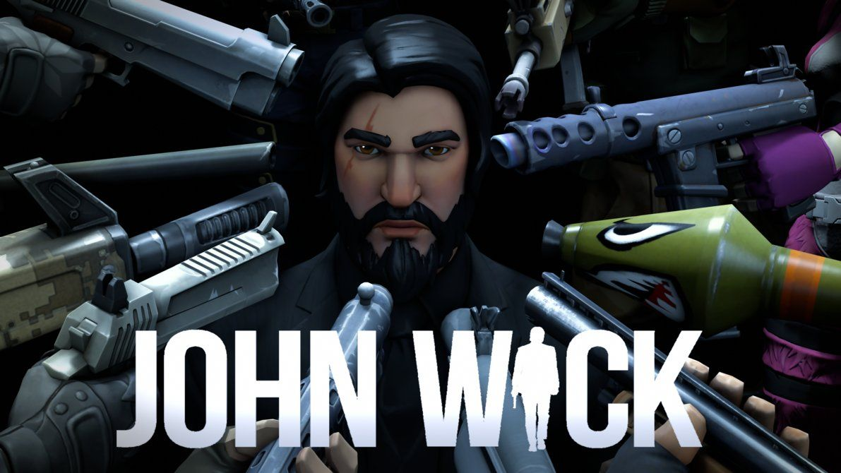John Wick Wallpaper Hd Fortnite Wallpapers John Wick Fortnite Man Vs