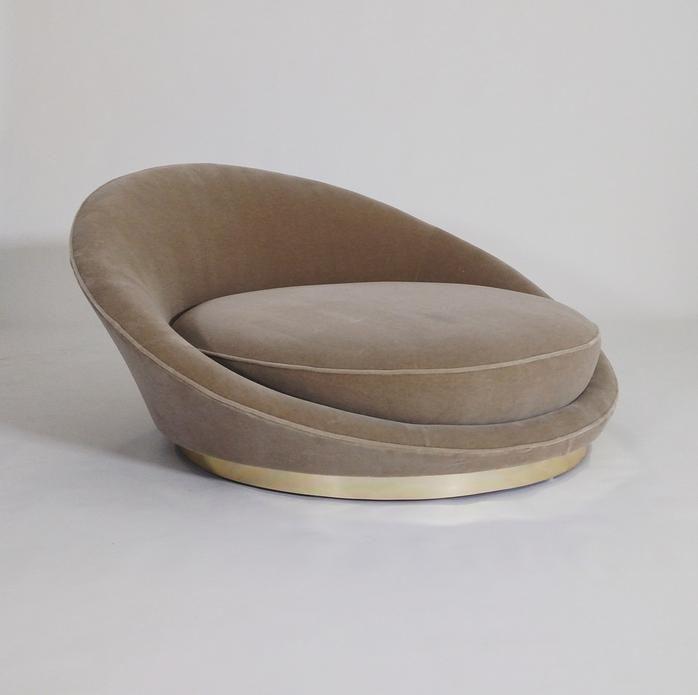 Milo Baughman Satellite Chaise Chairs Furniture Design