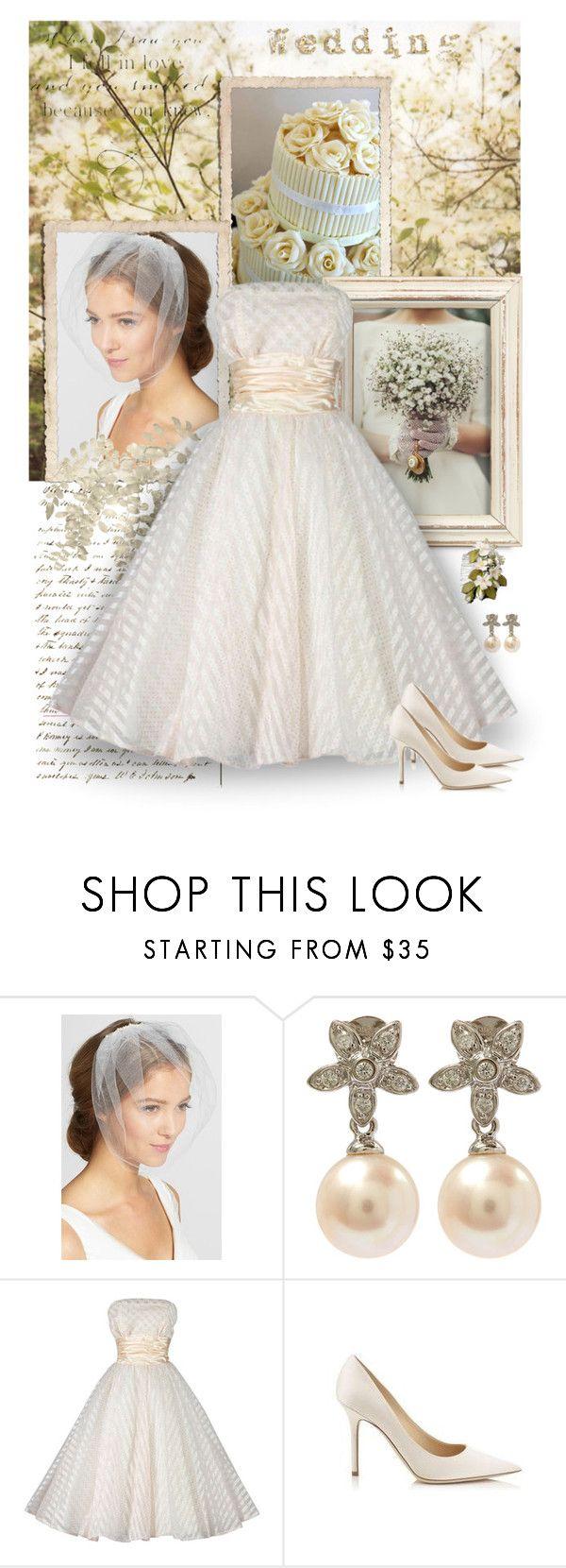 Vintage swiss dot wedding dress