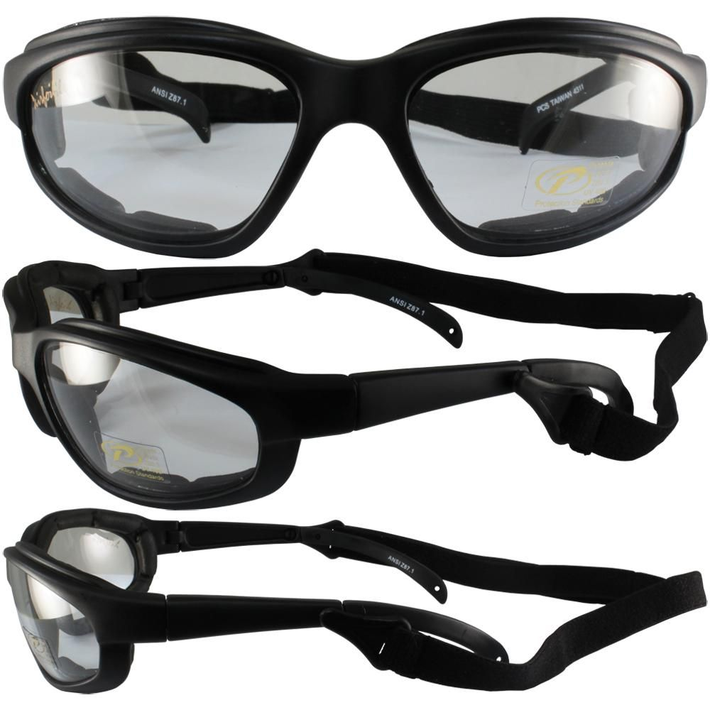 Freedom Padded Riding Glasses With Detacheable Strap