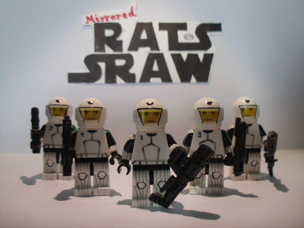 Lego Star Wars minifigure Trooper - Clone Custom Domino Squad   Lego ...