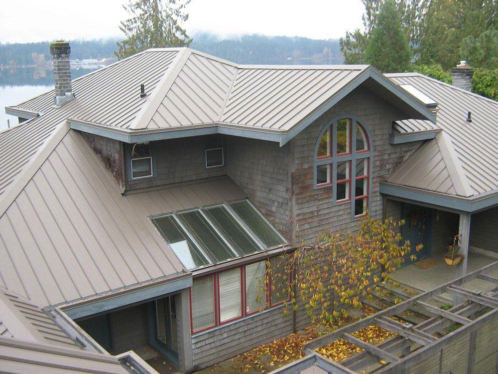 Standing seam steel roofing from Westform Metals Inc