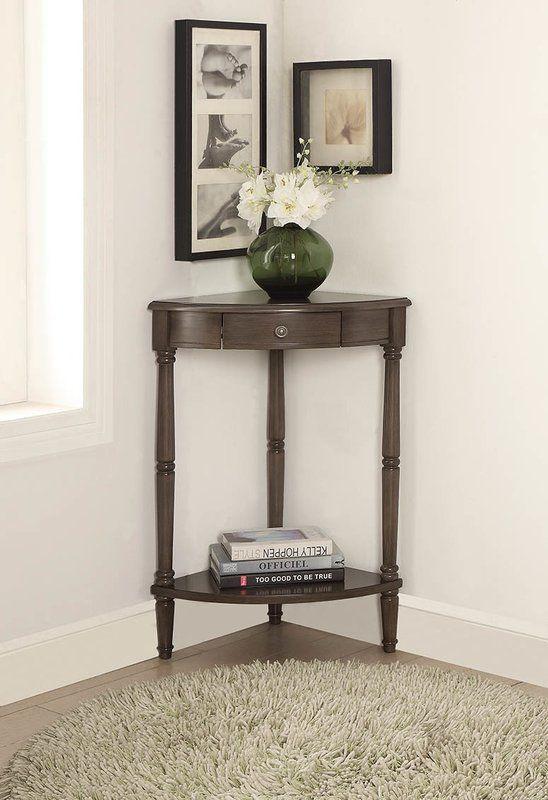 Rawls Corner End Table | Table decor living room, Living ...