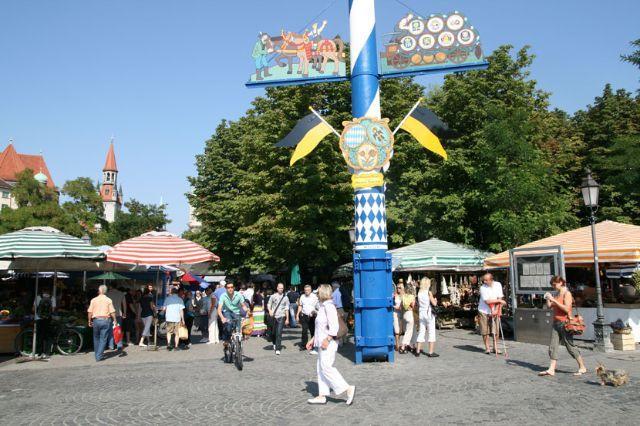 Viktualienmarkt Munich Farmers Market Sehenswurdigkeiten In Munchen Munchen Bayern Und Munchen