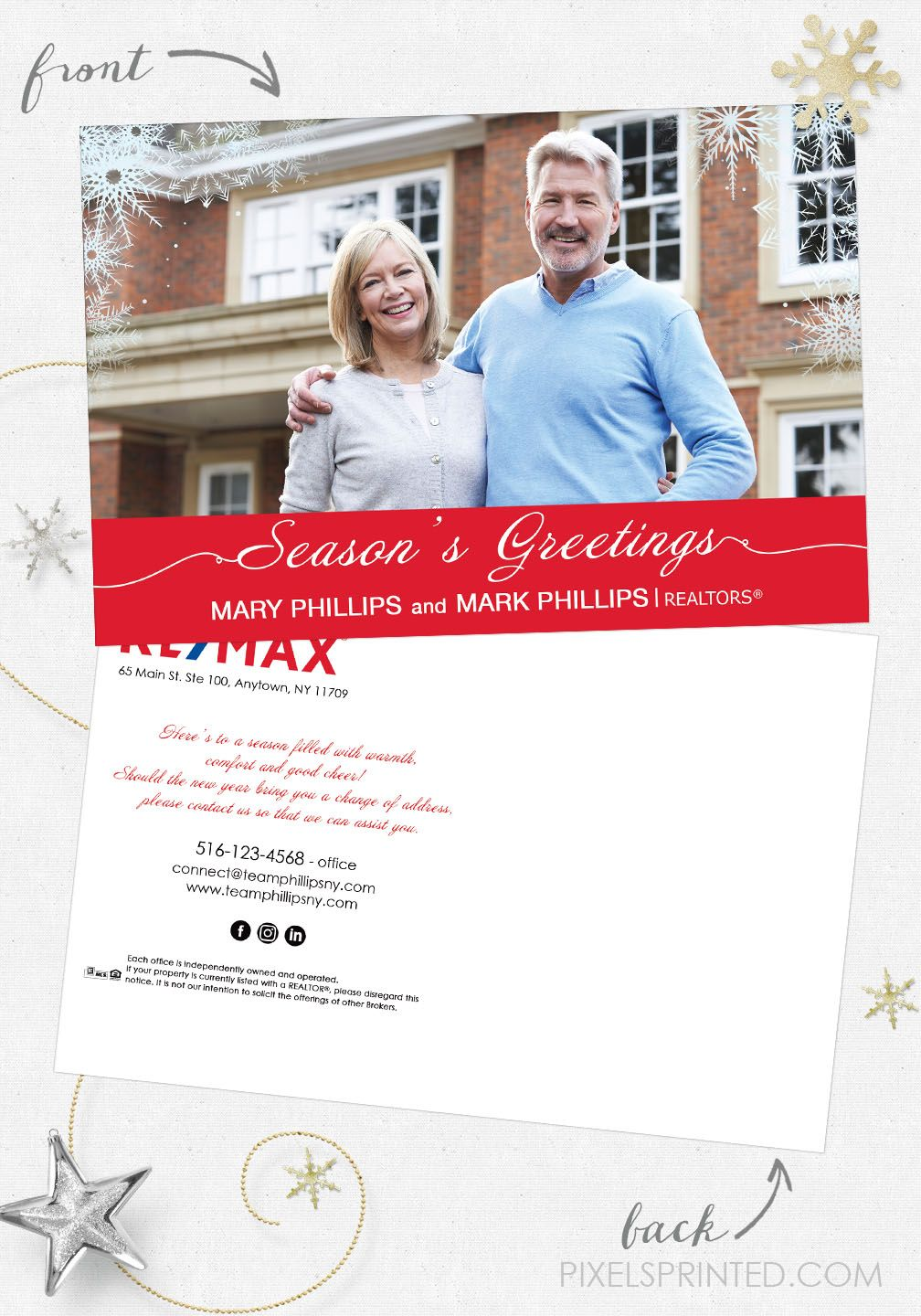 Remax Christmas Recipe Postcards Remax Holiday Recipe Postcards