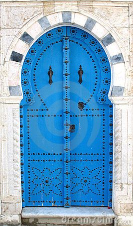 »✿❤Love Doors!❤✿« Blue Tunisian Doors