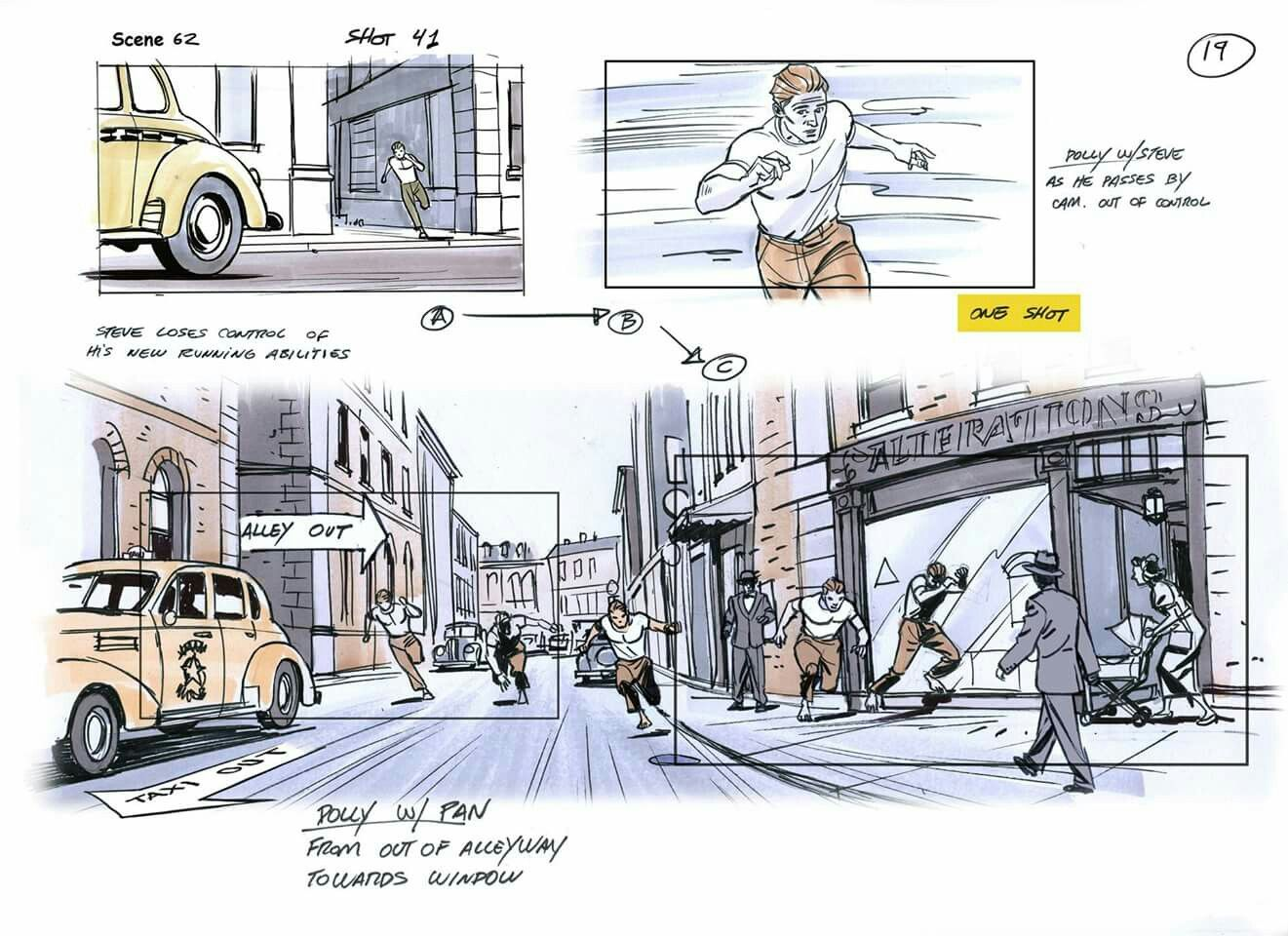 Pin By Hakan Nergiz On Captain America Storyboard Rodolfo