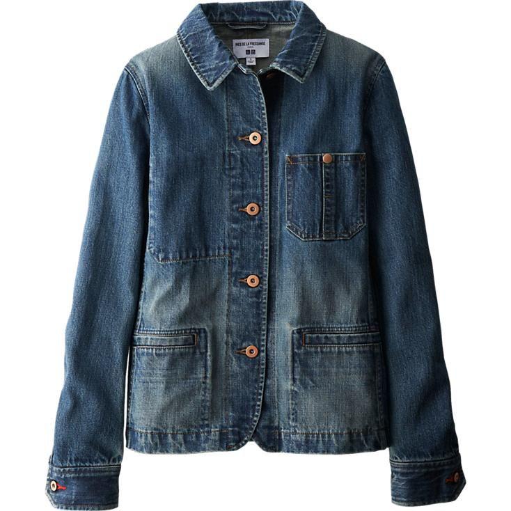 magasin d'usine a82a2 36a61 Ines de la Fressange Veste en jean FEMME | Wear / Clothing ...