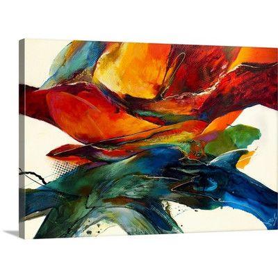 Great Big Toile Opposites Attract par Jonas Gérard Galerie peinture sur toile tendue sur châssis Imprimer