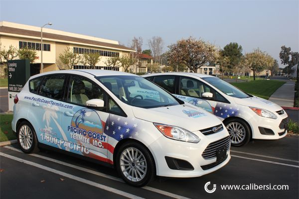 The C Max Fleet Now Up To Five Car Wrap Fleet Vehicles