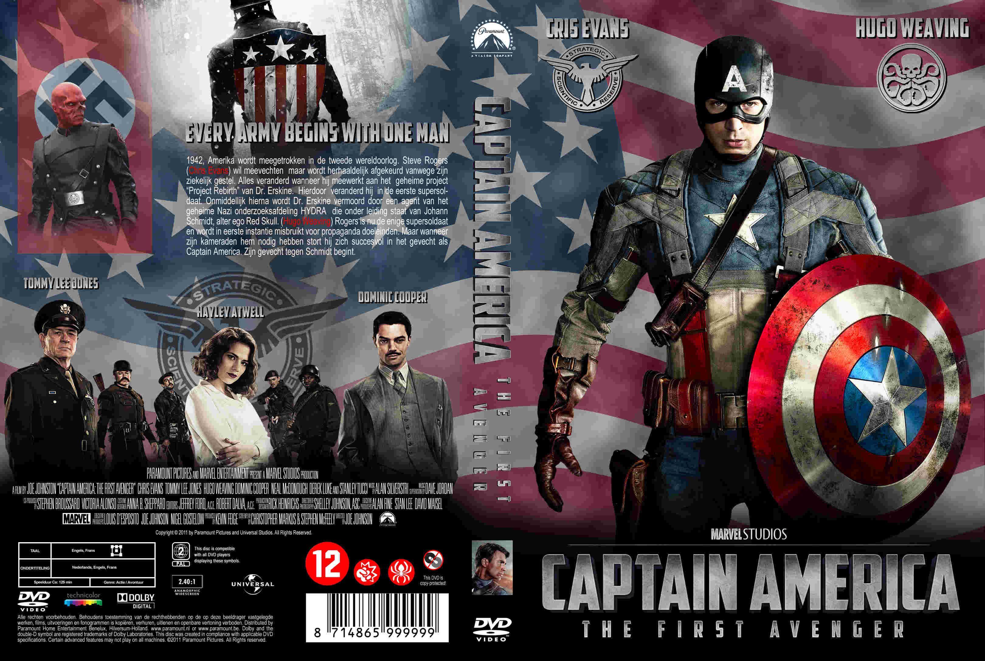 Capitan America El Primer Vengador 2011 Captain America Poster Marvel Movie Posters Marvel Posters