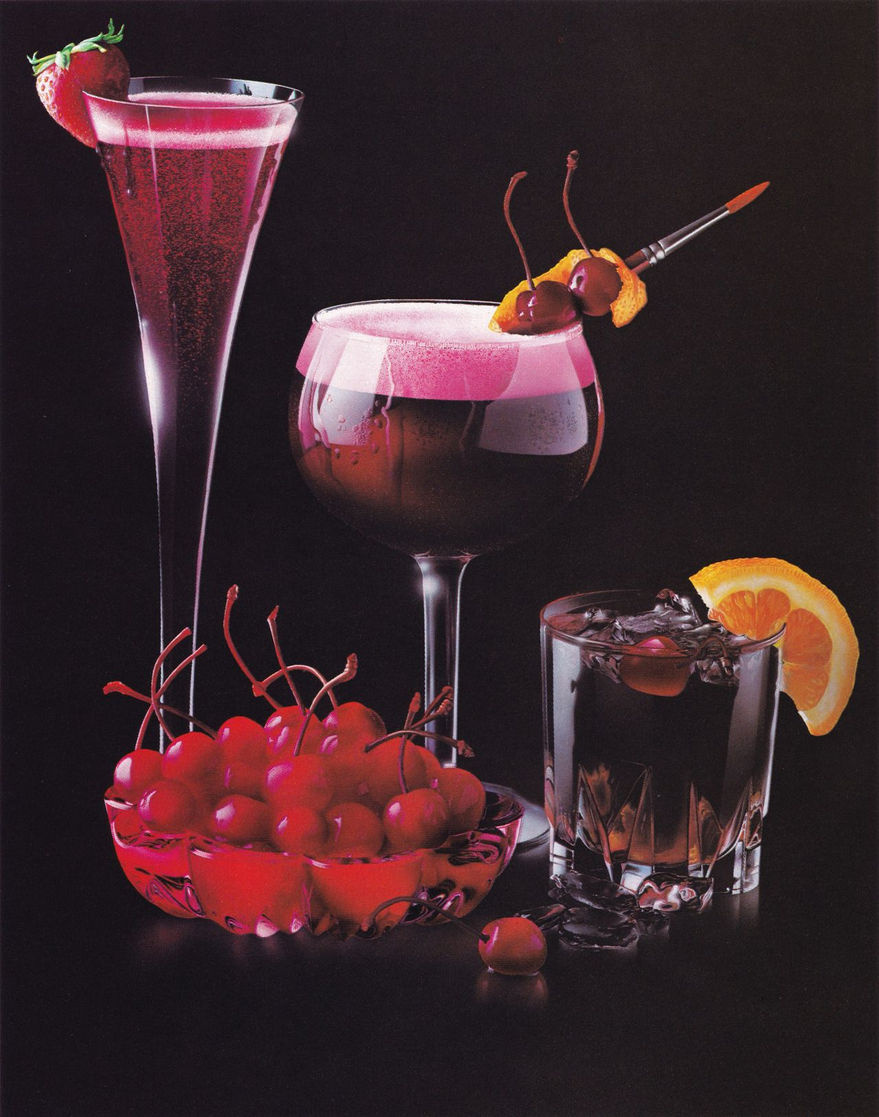 Capricorn Cherry Drink Food Illustrations Food And Drink