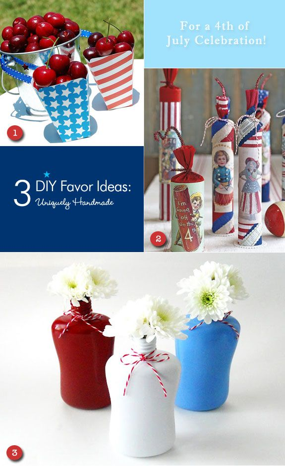 Delightful DIYs 4th Of July Favors For A Wedding