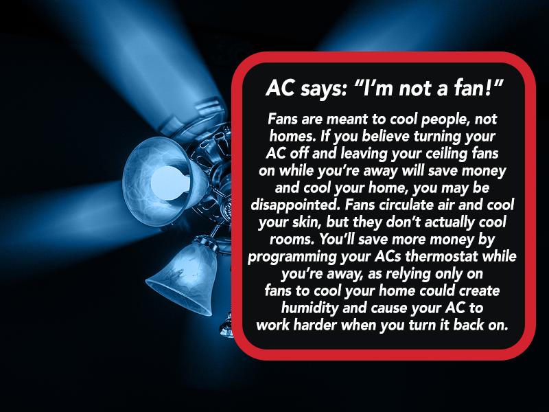 WednesdayWisdom HVAC NotAFan Air conditioning