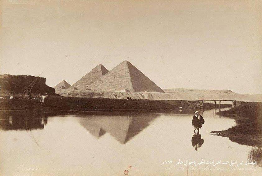 50 صورة نادرة لمصر في القرن 19 مشربيات و ملايات لف والنيل بجوار الأهرامات المصري لايت Egypt Historical Photos Natural History