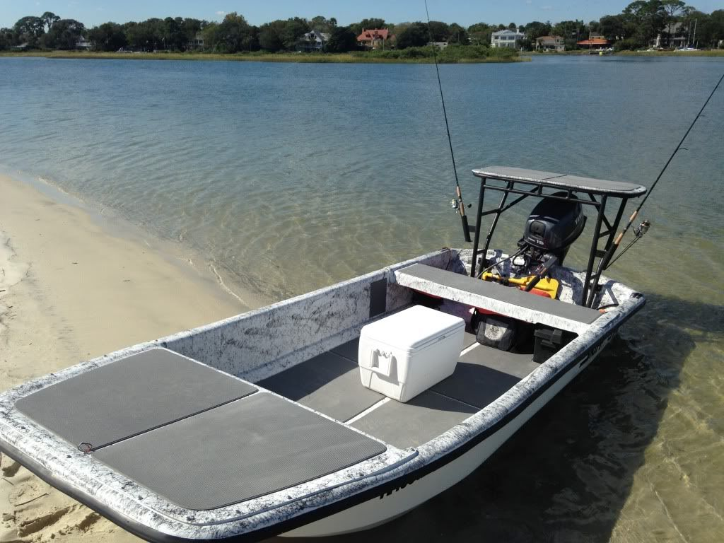 custom carolina skiff j14 mods | Bay boats