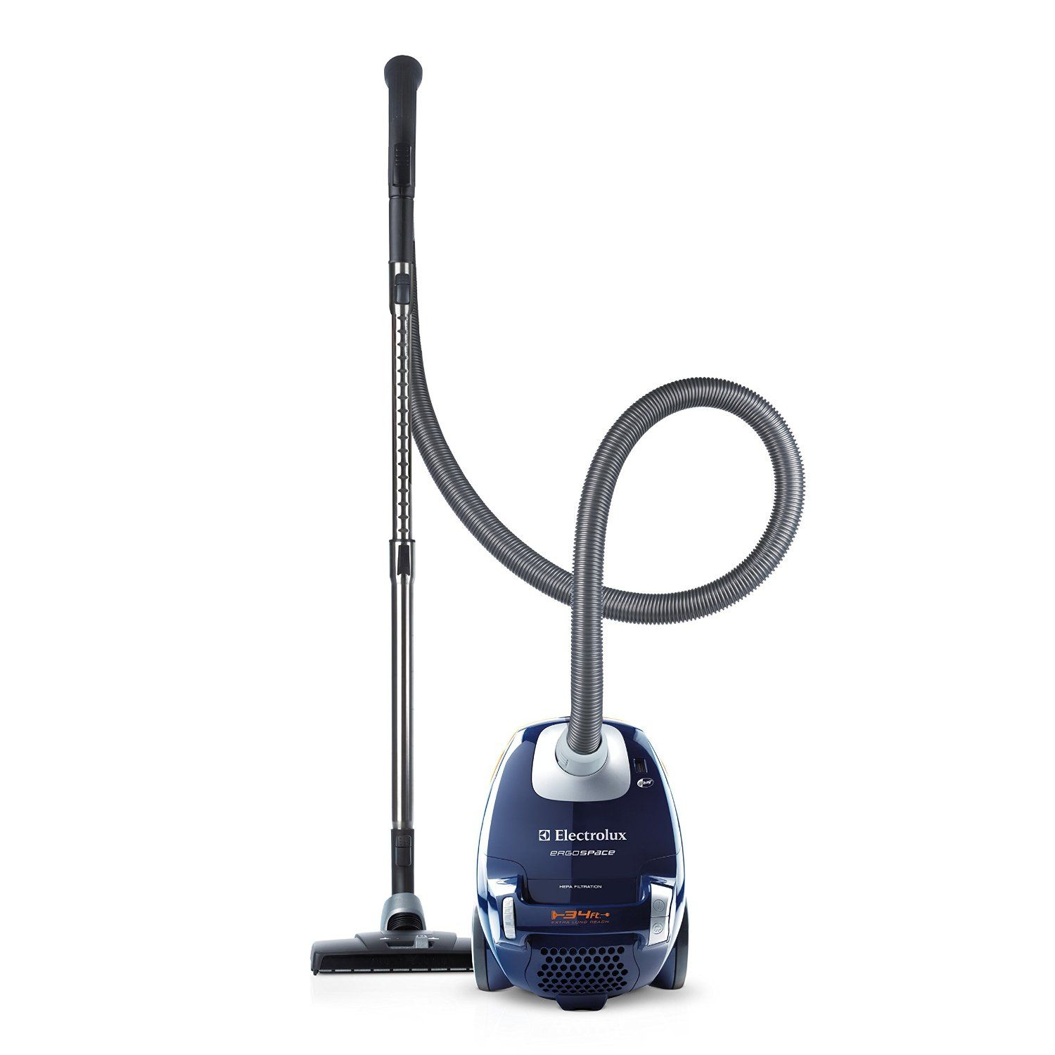 Electrolux Ergoe Bagged Canister Vacuum El4103a Is A Ful Cleaning Agent That Gives You Effective Operation All Around Your House With Its
