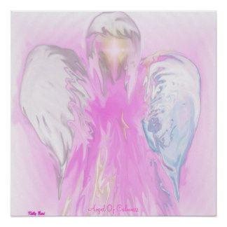 Angel Of Calmness Poster
