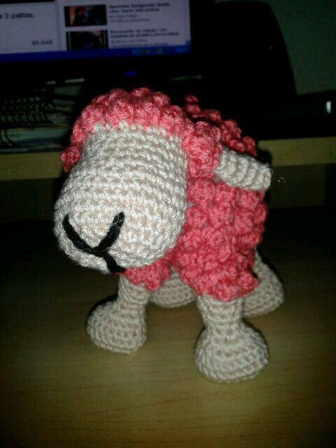 Oveja rosa