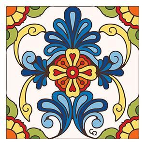 Decorative Tiles To Hang Floral Ceramic Tile  Home Redo Ideas  Pinterest  Bath And Kitchens