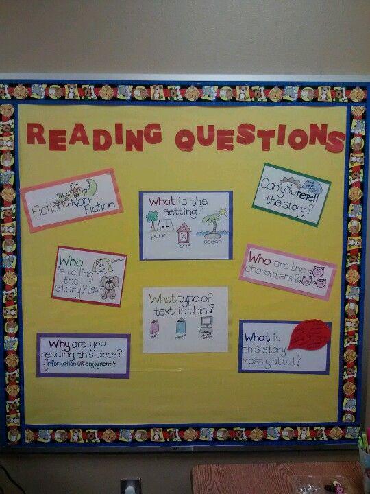 Reading bulletin board in my resource room | Teaching | Pinterest ...