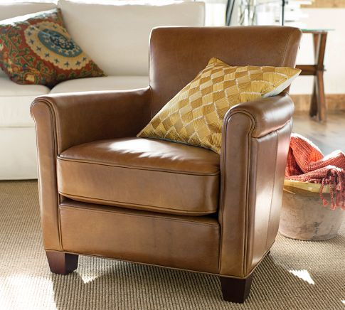 Irving Leather Armchair Amazing Design