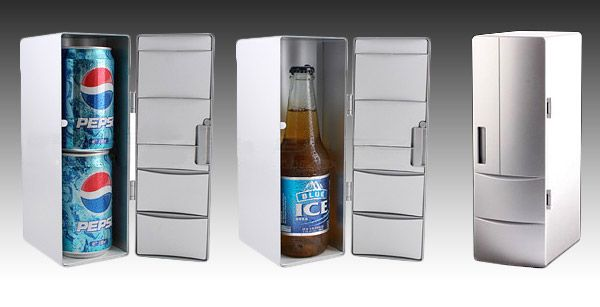 Want Double Can Usb Fridge Keep Drinks Cold At Your Desk Using A Usb What Usb Fridge Canning