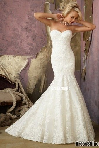 I love the shape...its a trumpet style with a mermaid flair - To ... e006a2fe7569