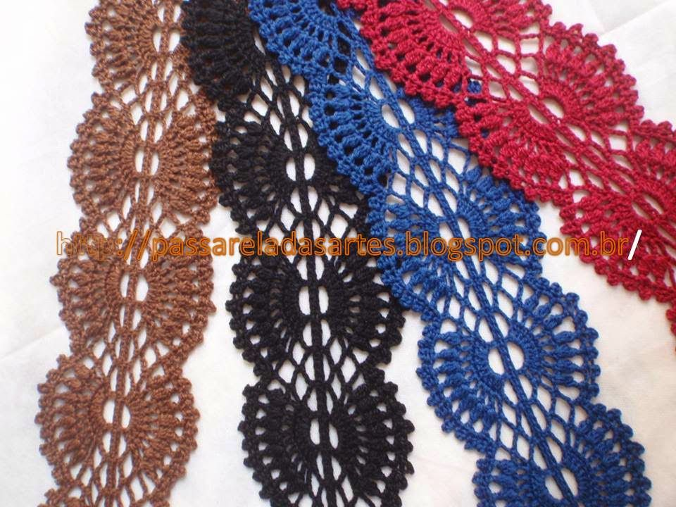 Artes na Passarela: Faixa para cabelo em crochê