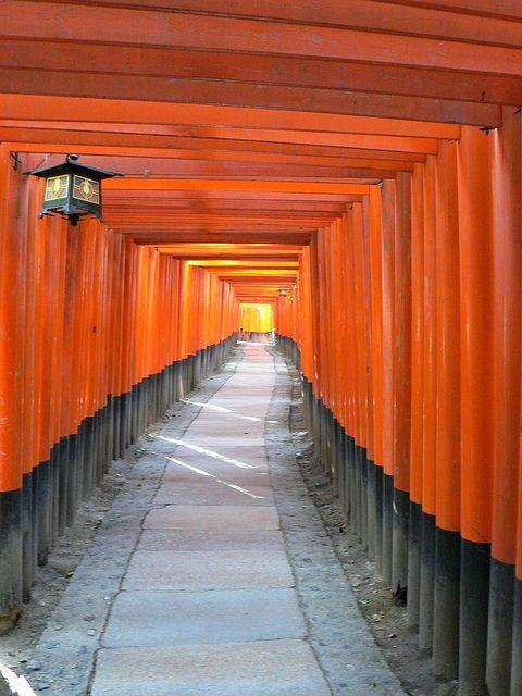 Fushimi Inary Kyoto by JunevonBonin, via Flickr