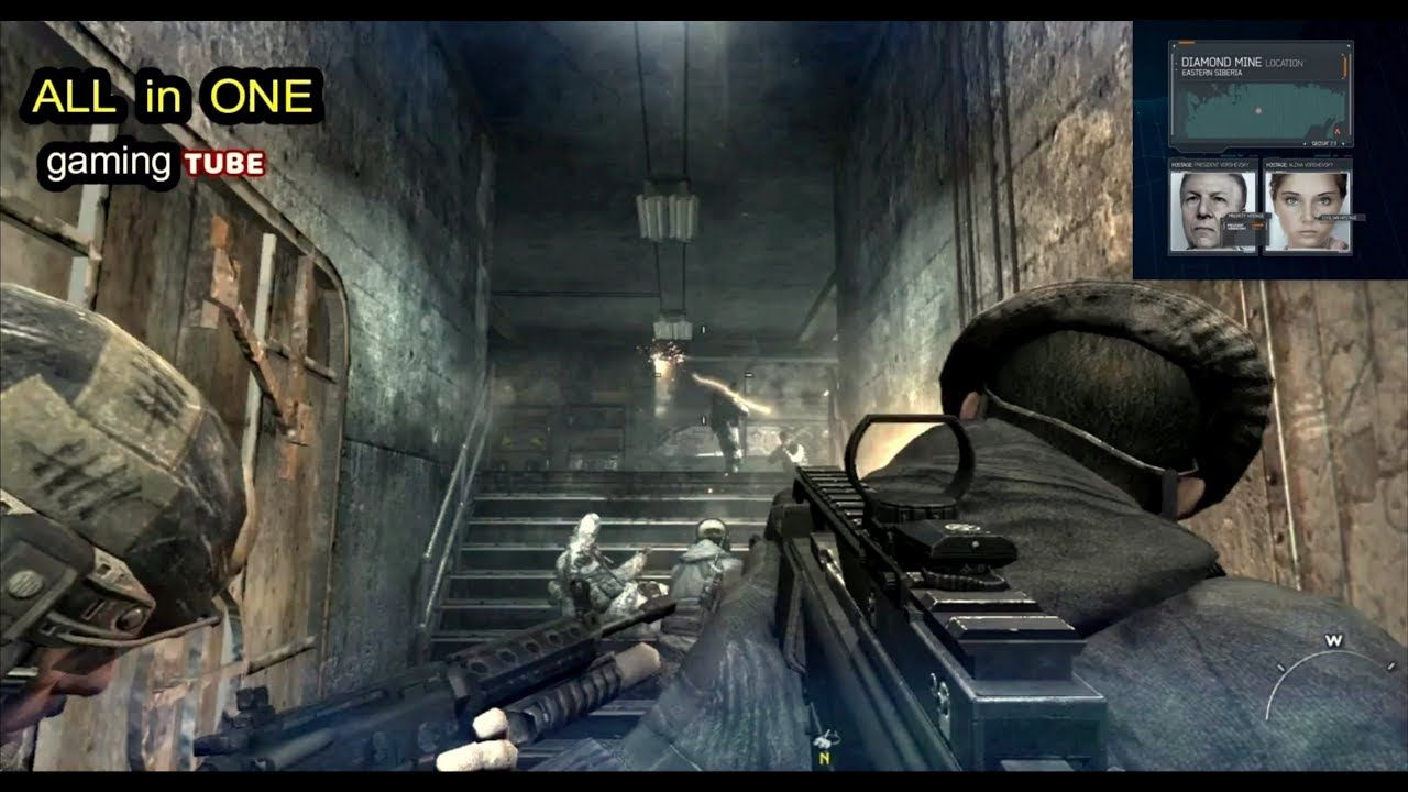 In this video you can see Call of Duty Modern Warfare 3,COD