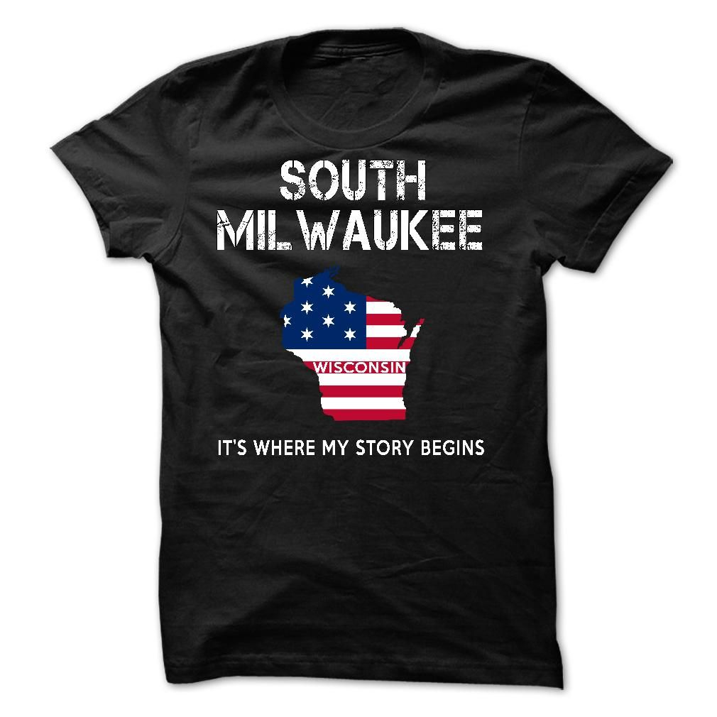 SOUTH MILWAUKEE LOVE X1 Check more at http://coolshirts.today/south-milwaukee-love-x1/