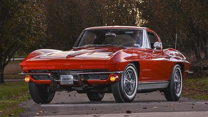 1963 Chevrolet Corvette Split Window Coupe 327 300 Hp Unrestored