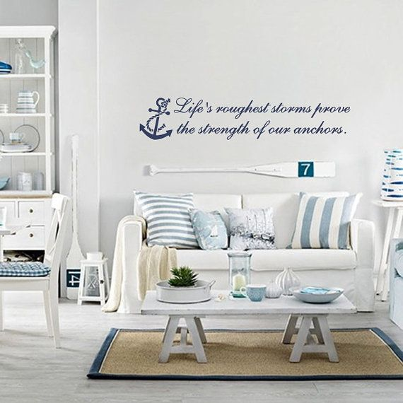 Life S Roughest Storms Wall Design On Etsy 28 00 Coastal Style