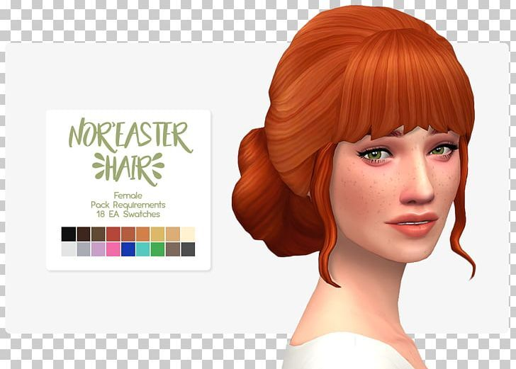 The Sims 4 Electronic Arts Maxis Game Minecraft Png Brown Hair Ear Electronic Arts Forehead Game Sims Hair Sims 4 Sims