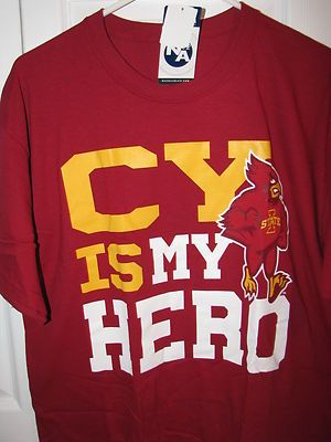 Iowa State Cyclones Cy Is My Hero Shirt Large Nwt With Images