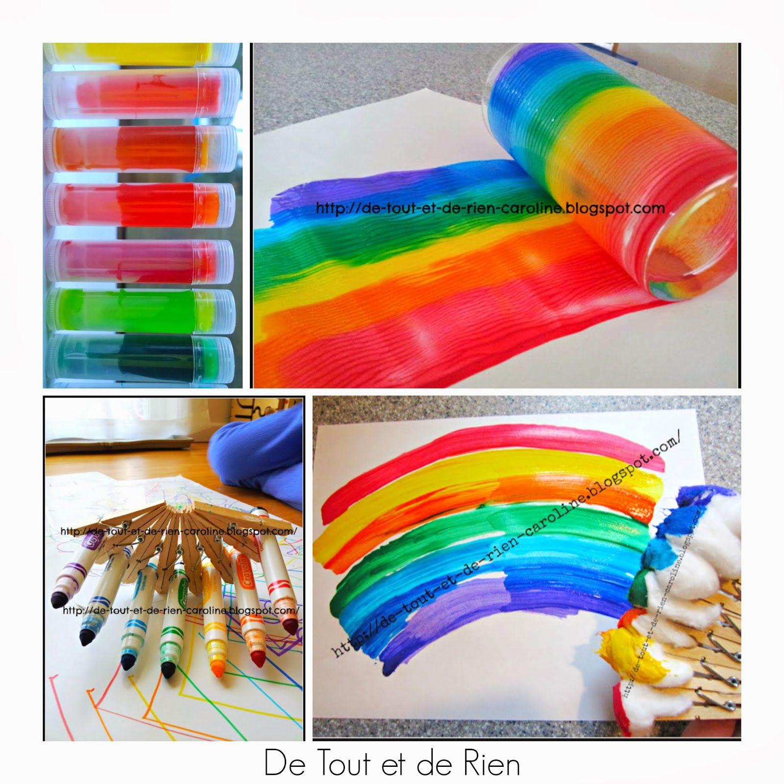 36 Rainbow Activities For Babies, Toddlers, Preschoolers