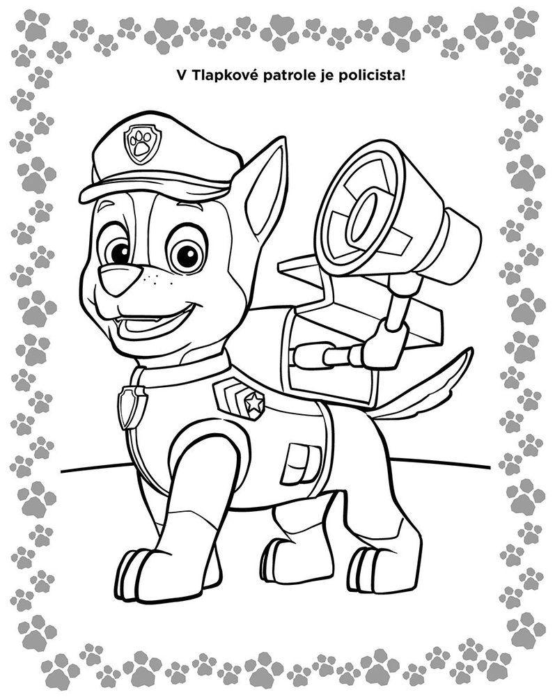 Pin By Iveta Vargova On Tlapkova Patrola Paw Patrol Coloring Simo Paw Patrol