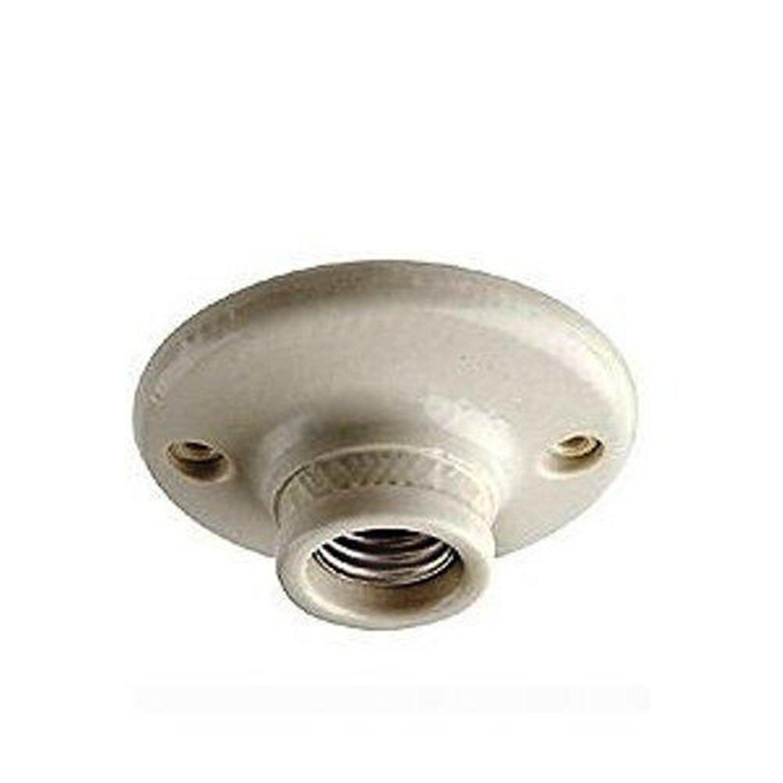 Leviton 9874 Porcelain Outlet Box Mount Incandescent