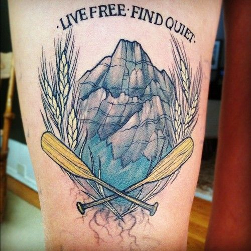 Done By Sam Smith At Bushido Tattoo Calgary Ab Mountain Tattoo Tattoos Cool Tattoos