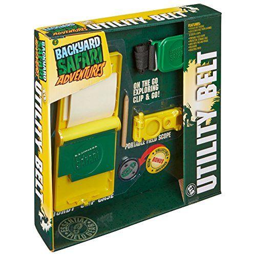 Backyard Safari Utility Belt Toy Backyard Safari Https