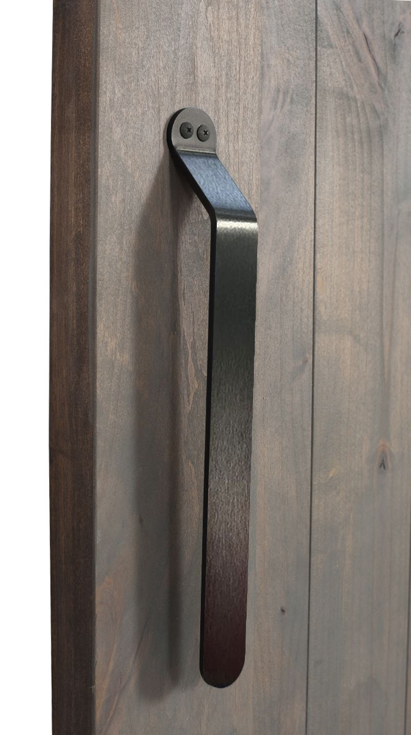 Rustica Hardware Concord 12 Inch Handle Brushed Steel With Images Door Handles Barn Door Handles Door Pulls