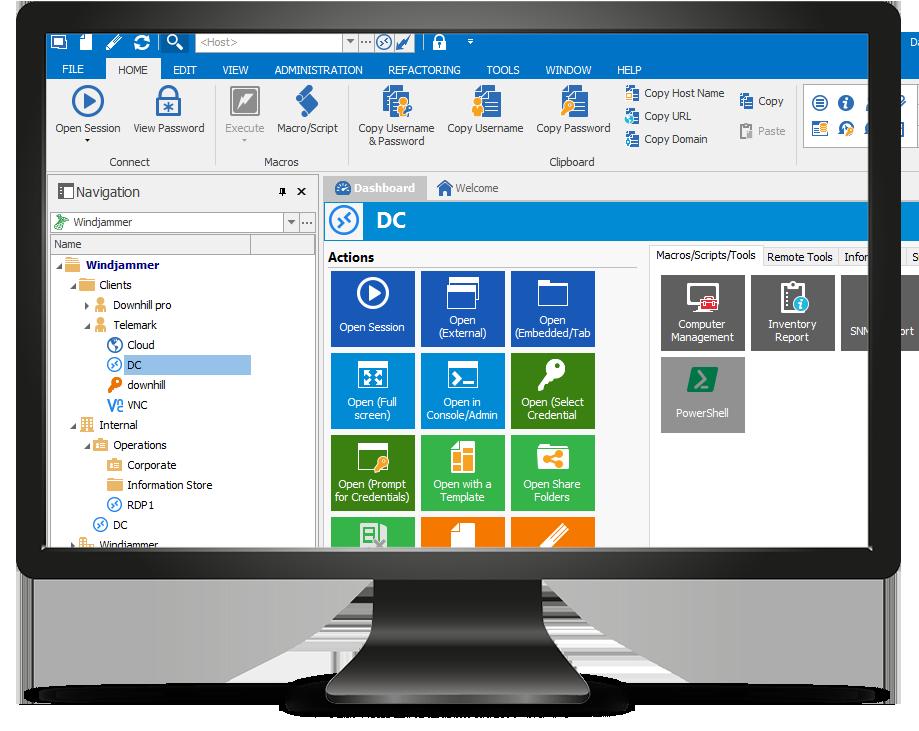 Remote Desktop Manager Enterprise 4.6.2.0 for Mac 破解版 控制